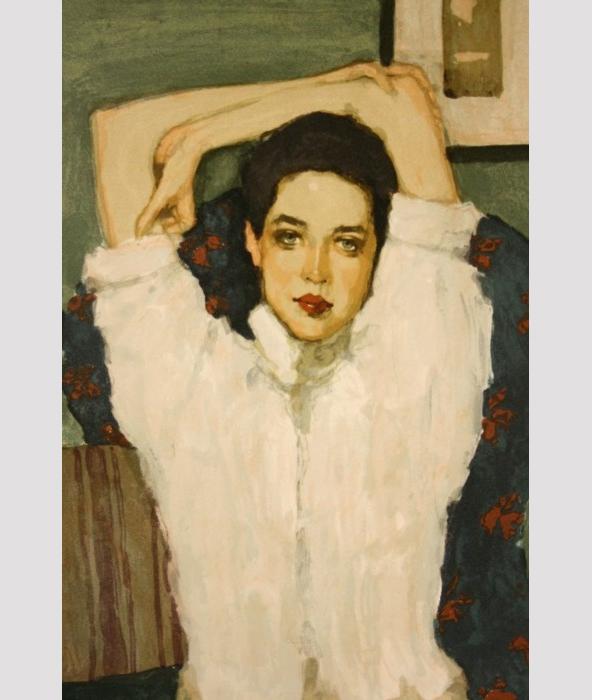 Portrait Gallery Wall  |  Primitive Modernism Blog, view more amazing images: www.primitivemodernism.com/blog/about-face Malcolm T. Liepke