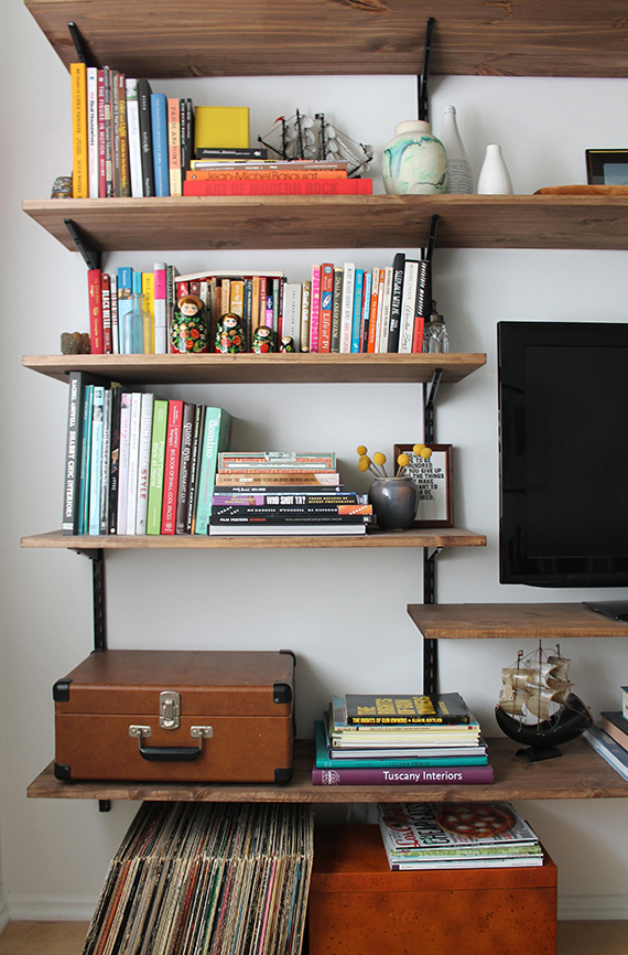 Diy Wall Mounted Shelving Brackets After Right Shelf Shelves Shelving