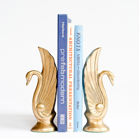 beforedecorbigcartel-swan-bookends