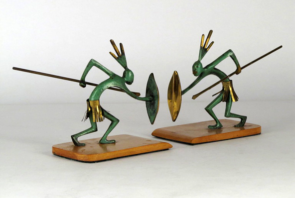 modernaire-warrior-bookends-1