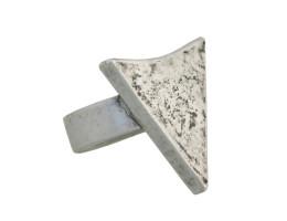 Arrowhead Ring - Antiqued Silver
