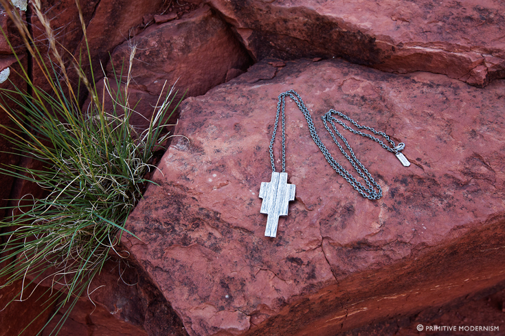 // Primitive Modernism Jewelry - Ziggurat Necklace in Sedona, AZ
