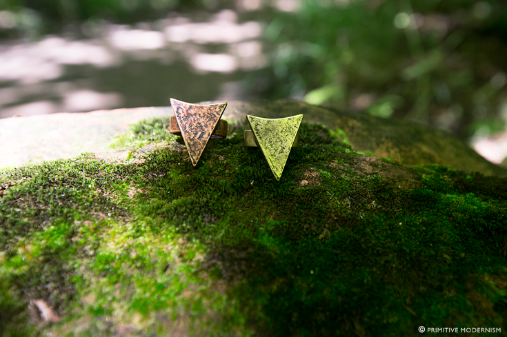 // Primitive Modernism Jewelry - Arrowhead Rings in Sedona, AZ