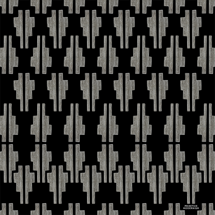 // Un-Repeat - Geometric Pattern by Primitive Modernism